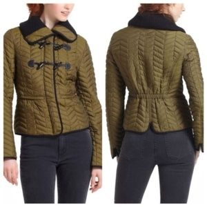 Anthropologie Quilted Puffer Jacket